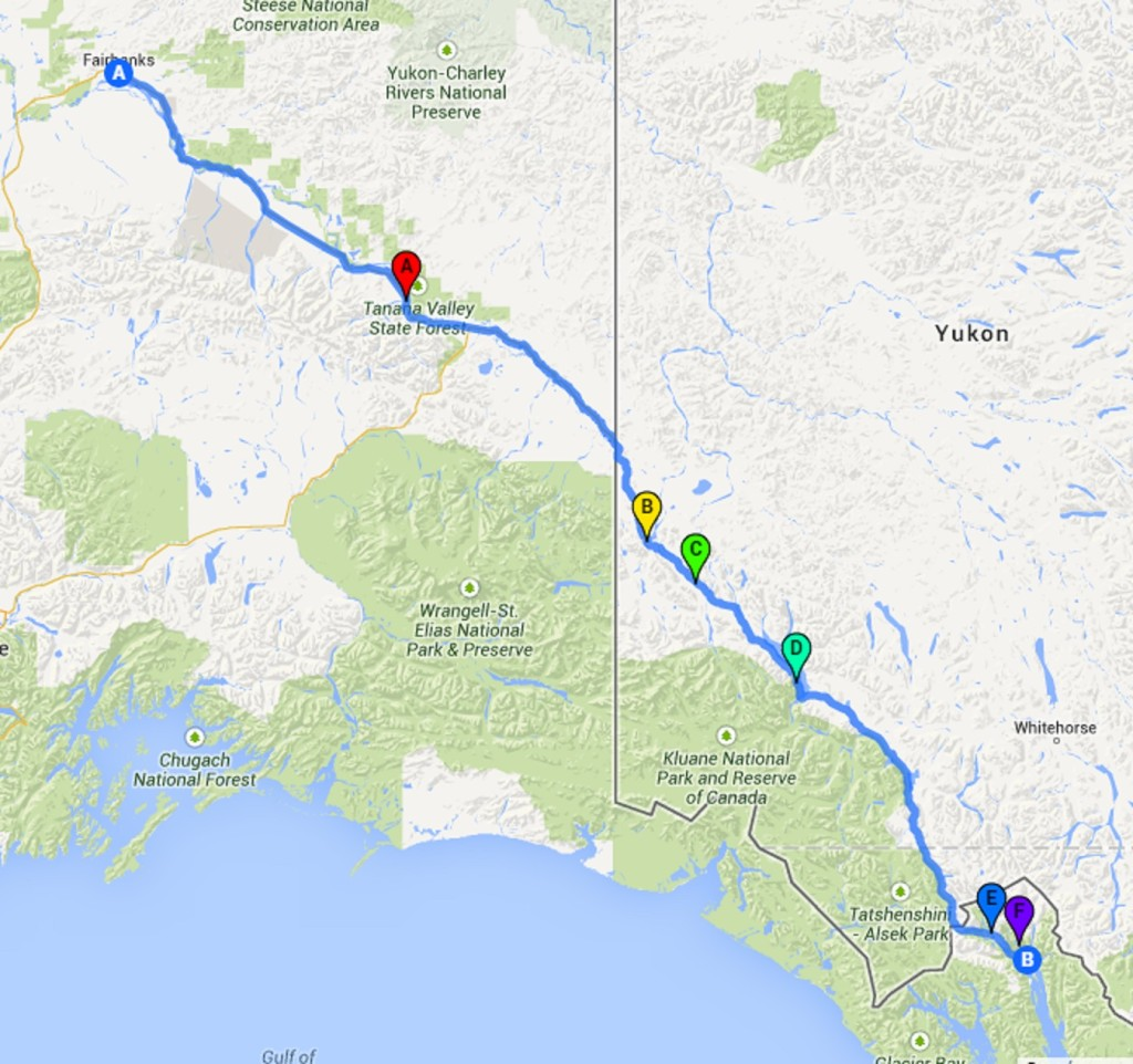 Fairbanks to Haines